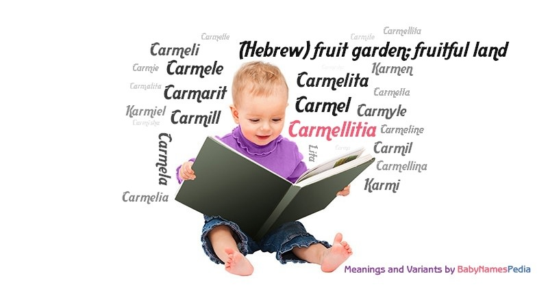 Meaning of the name Carmellitia