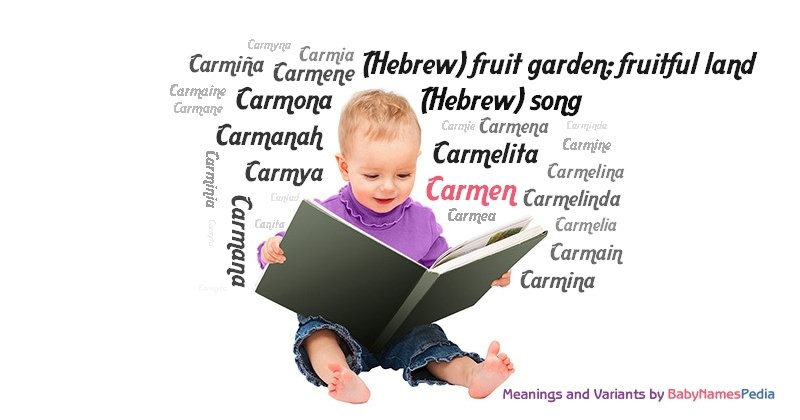 Meaning of the name Carmen