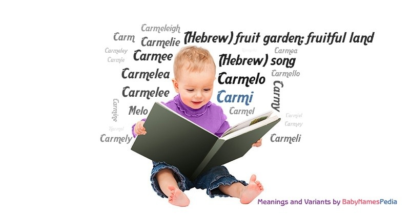 Meaning of the name Carmi