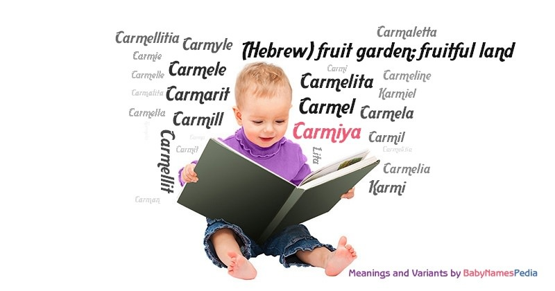 Meaning of the name Carmiya