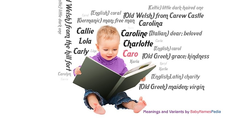 Meaning of the name Caro