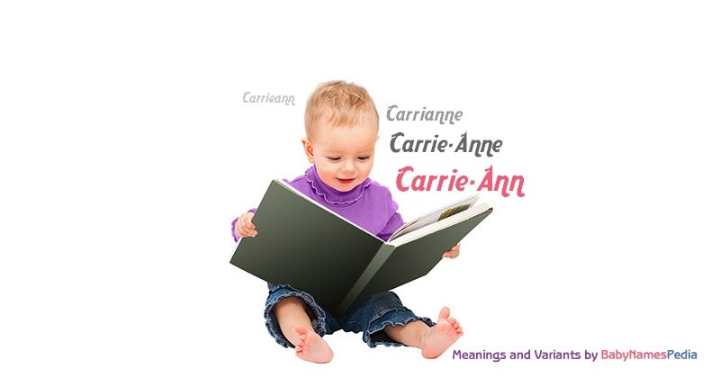 Meaning of the name Carrie-Ann