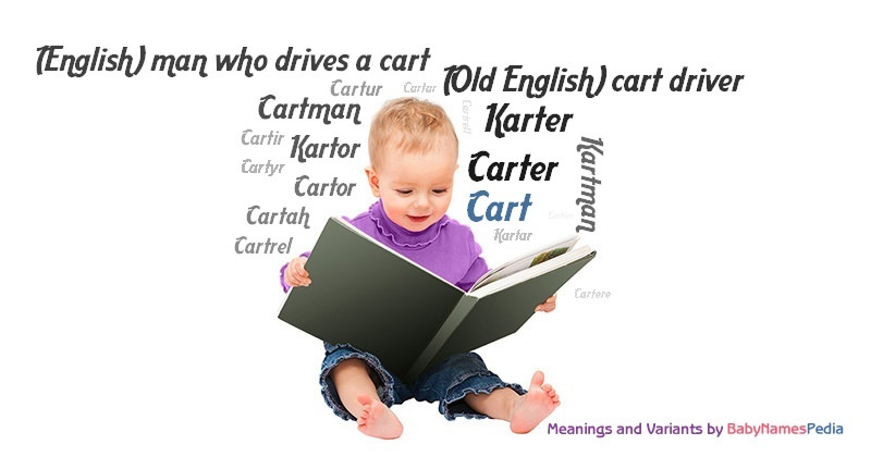 Meaning of the name Cart