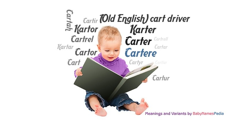 Meaning of the name Cartere