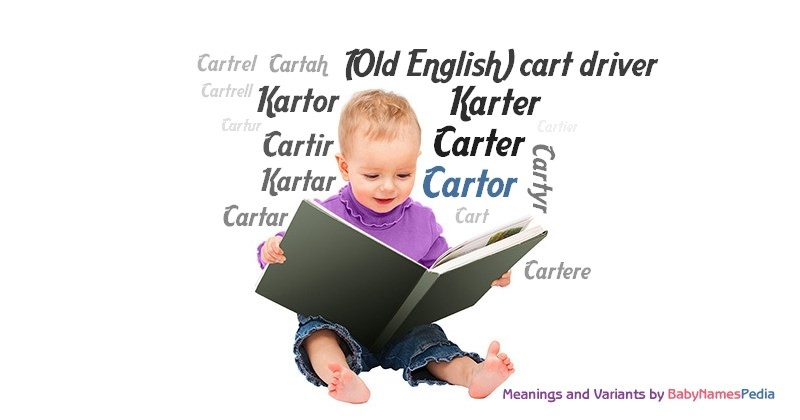 Meaning of the name Cartor