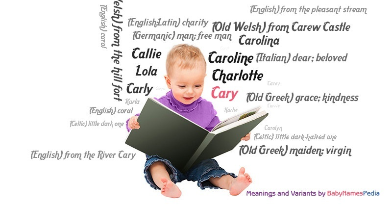 Meaning of the name Cary