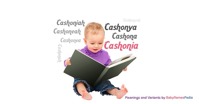 Meaning of the name Cashonia