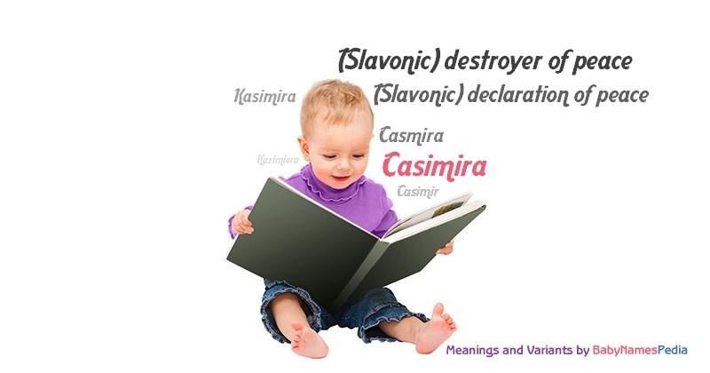 Meaning of the name Casimira