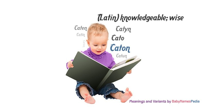Meaning of the name Caton