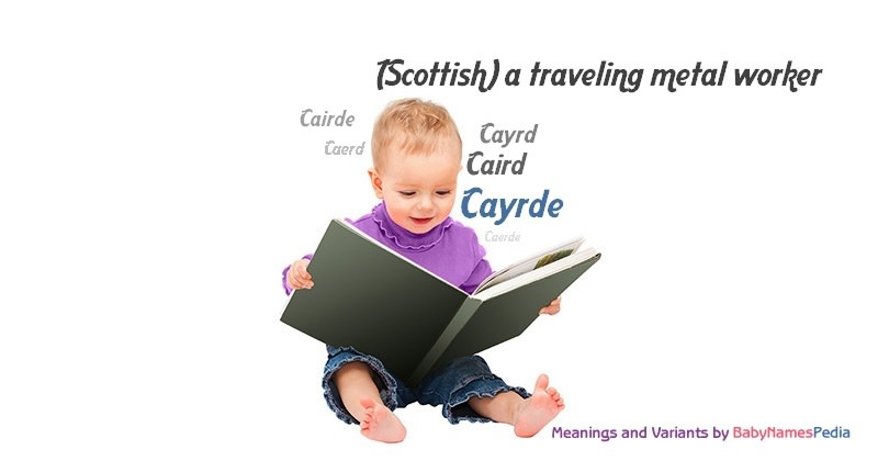 Meaning of the name Cayrde