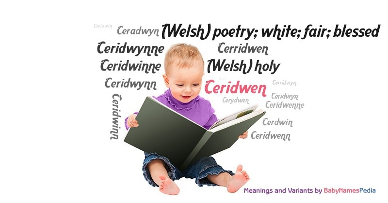 Meaning of the name Ceridwen