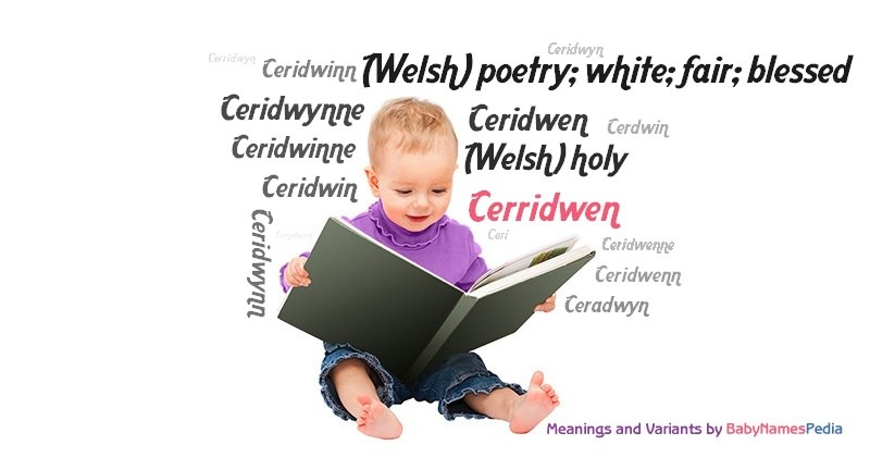 Meaning of the name Cerridwen