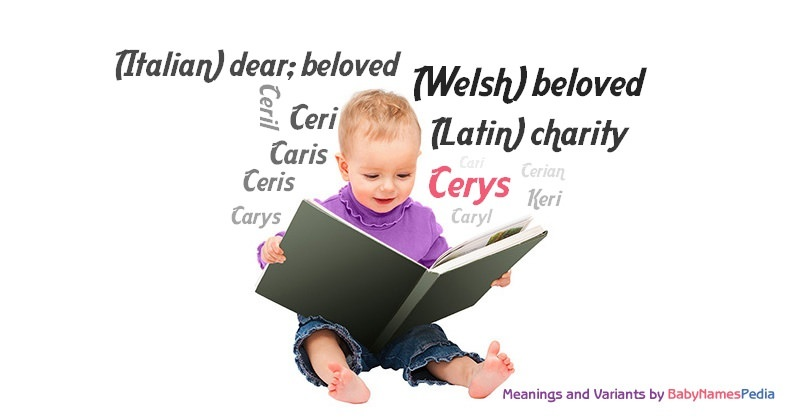 Meaning of the name Cerys