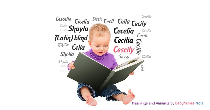 Meaning of the name Cescily