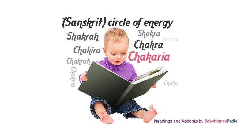 Meaning of the name Chakaria
