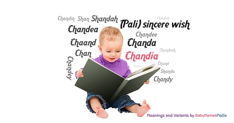 Meaning of the name Chandia