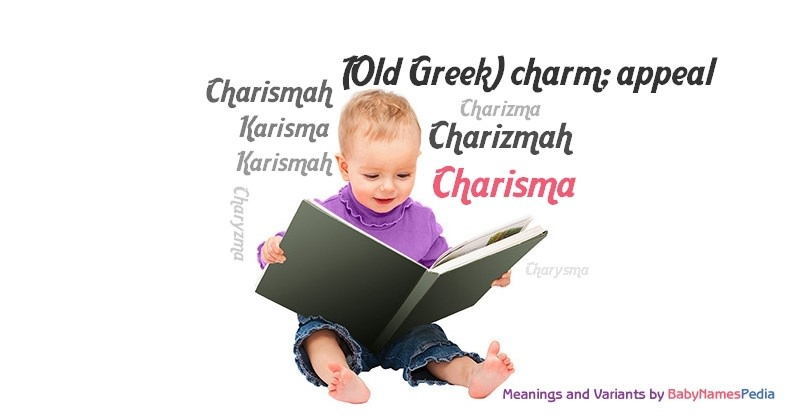 Meaning of the name Charisma