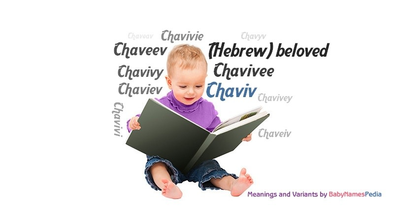 Meaning of the name Chaviv