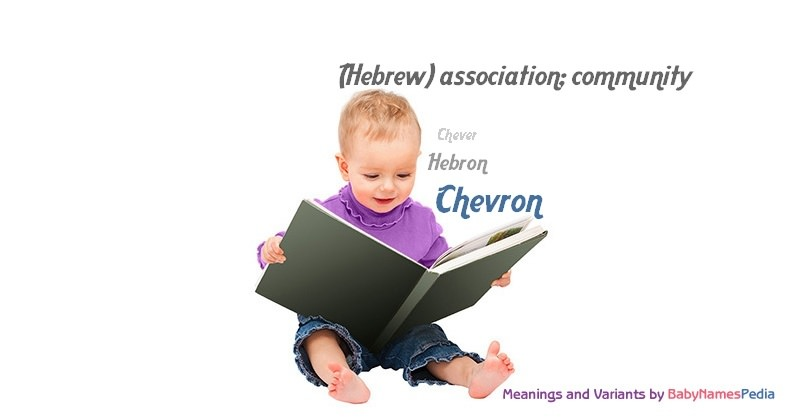 Meaning of the name Chevron
