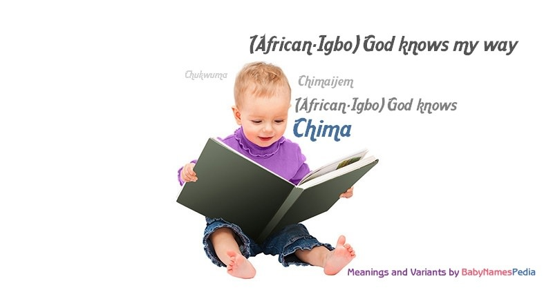 Meaning of the name Chima