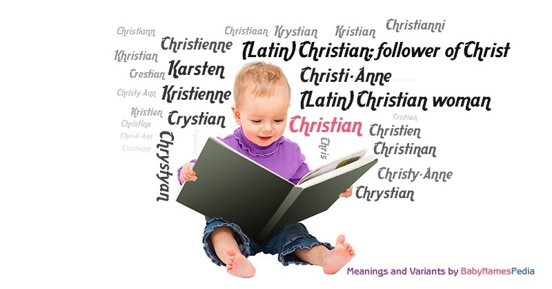 Christian - Meaning of Christian, What does Christian mean ...