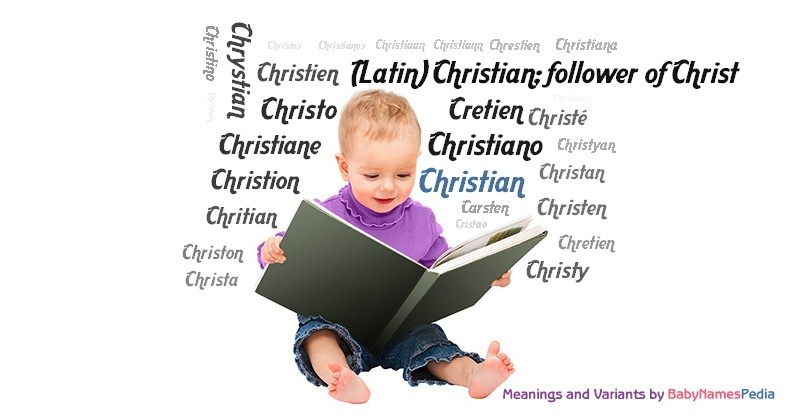 Meaning of the name Christian