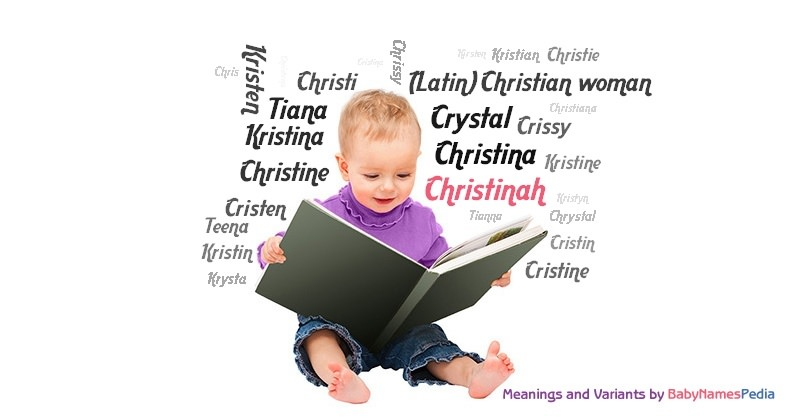 Meaning of the name Christinah