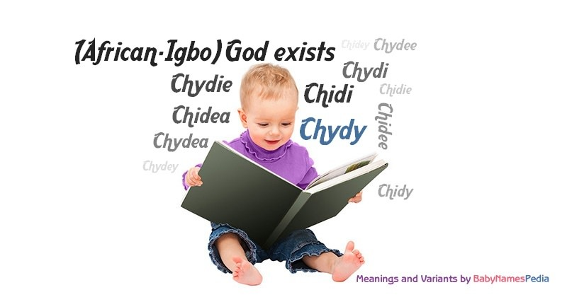 Meaning of the name Chydy