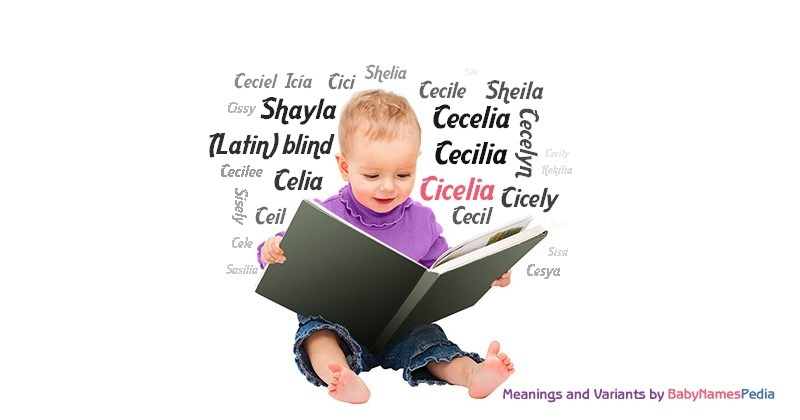 Meaning of the name Cicelia