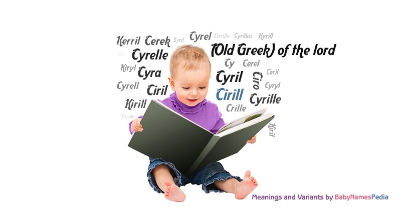 Meaning of the name Cirill