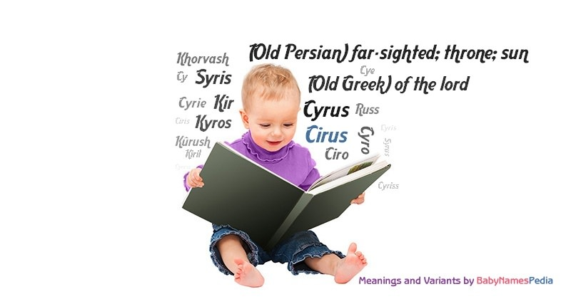 Meaning of the name Cirus