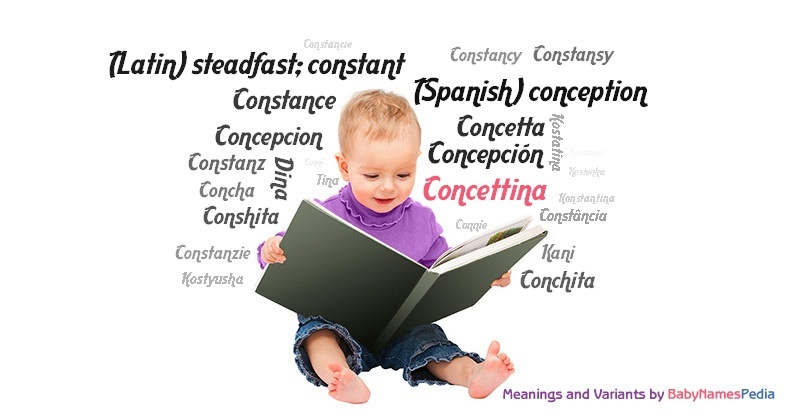 Meaning of the name Concettina