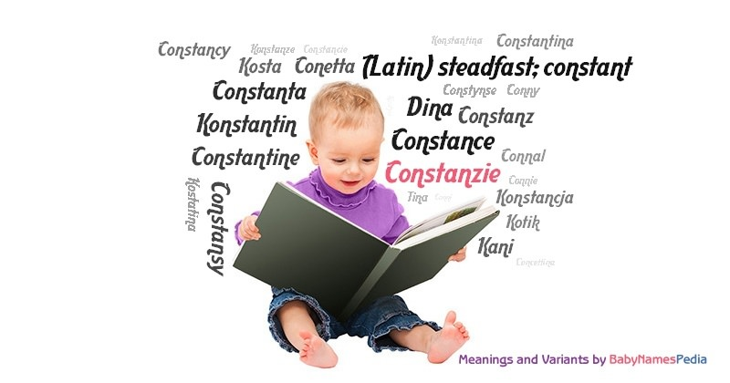 Meaning of the name Constanzie