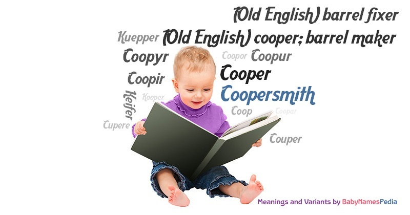 Meaning of the name Coopersmith