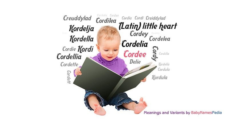 Meaning of the name Cordee