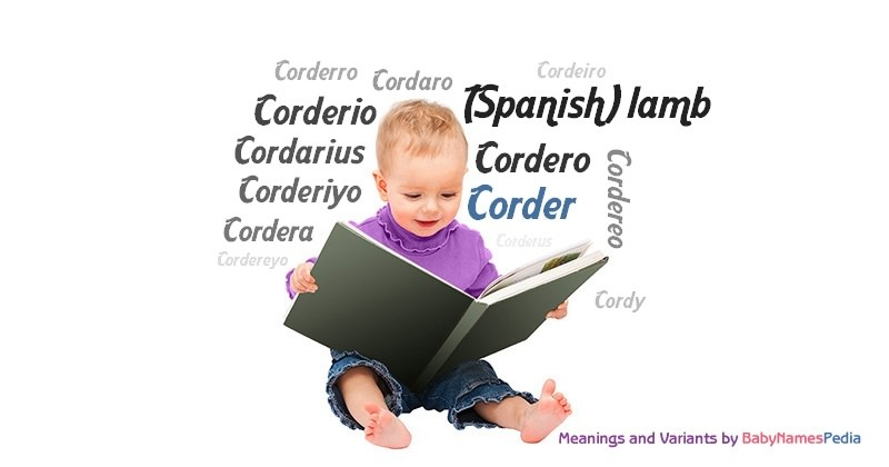 Meaning of the name Corder