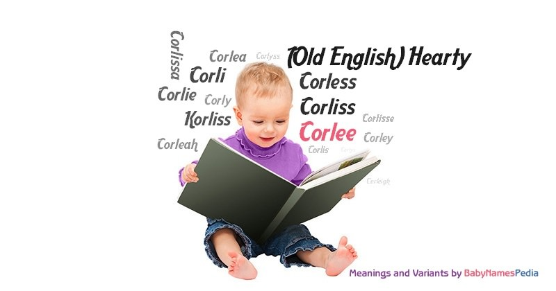 Meaning of the name Corlee
