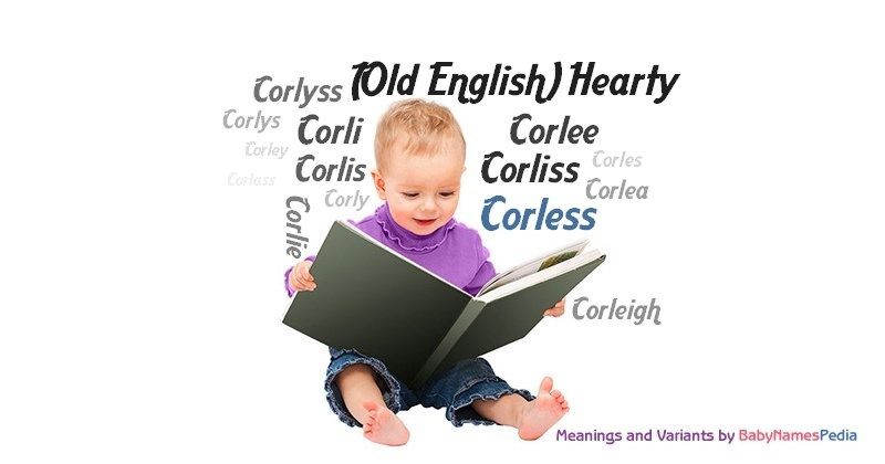 Meaning of the name Corless