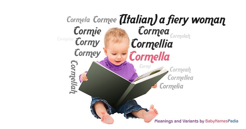 Meaning of the name Cormella