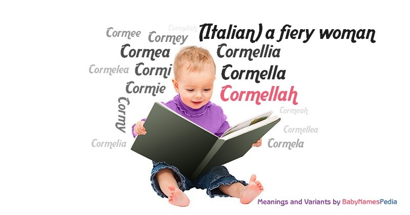 Meaning of the name Cormellah