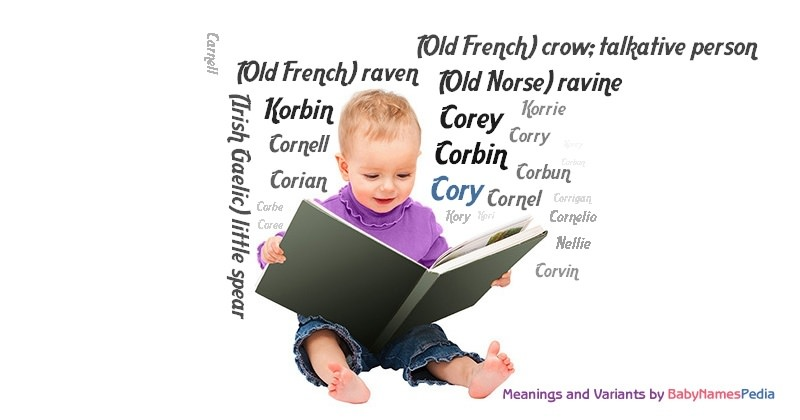 Meaning of the name Cory
