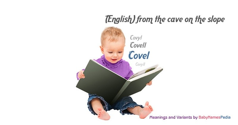 Meaning of the name Covel