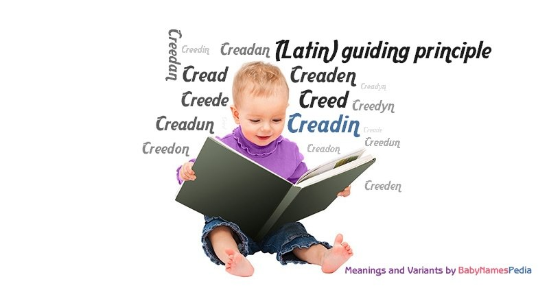 Meaning of the name Creadin