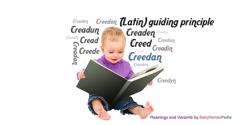 Meaning of the name Creedan