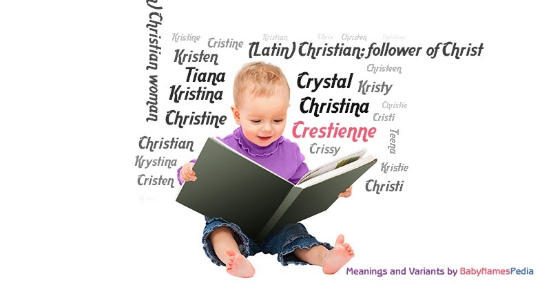 Meaning of the name Crestienne