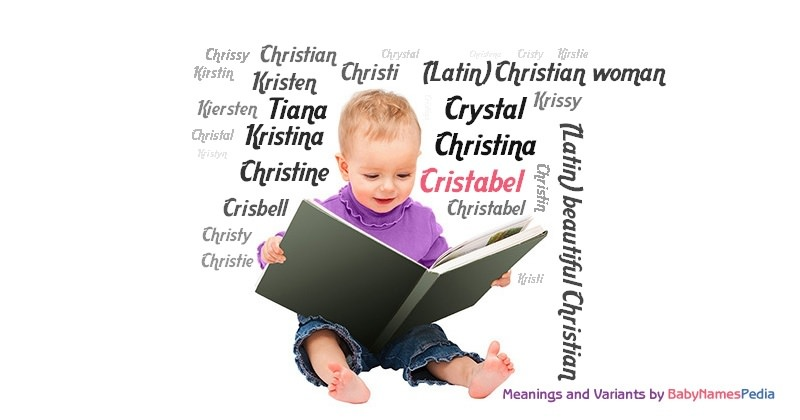 Meaning of the name Cristabel