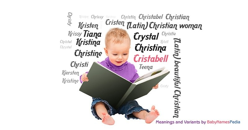 Meaning of the name Cristabell