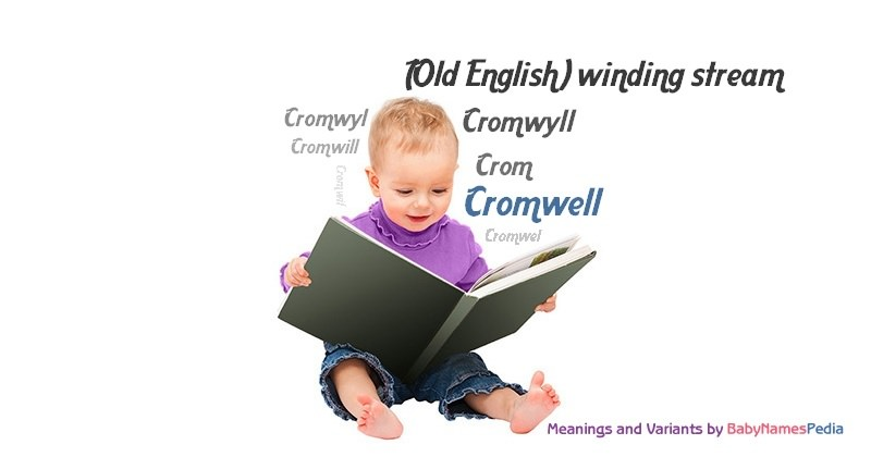 Meaning of the name Cromwell