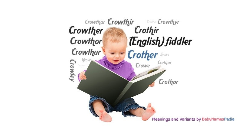 Meaning of the name Crother
