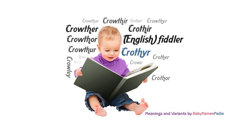 Meaning of the name Crothyr